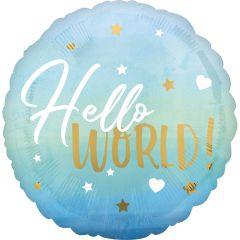 Standard HX Blue Baby Boy folijski balon