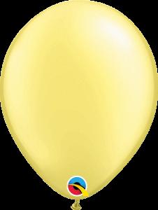 Lateks baloni 28cmPearl Lemon Chiffon