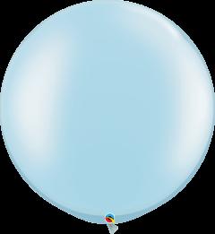 Lateks baloni 75cm Pearl Light Blue