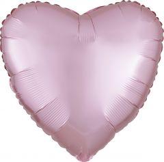 Standard srce Satin Luxe Pastel Pink  folijski balon
