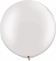 Lateks baloni 75cm Pearl White