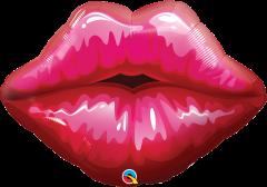 Maxi Big Red Kissey Lips folijski balon