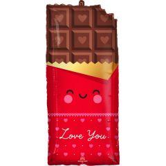 Maxi Chocolate Love folijski balon
