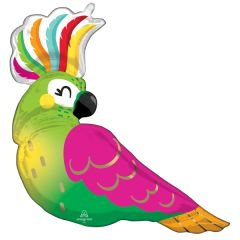 Maxi Tropical Parrot folijski balon