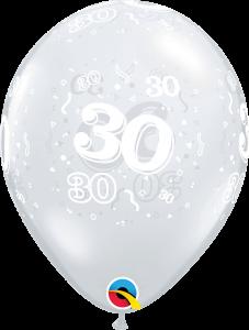 Lateks baloni 28cm 30 A Round DC