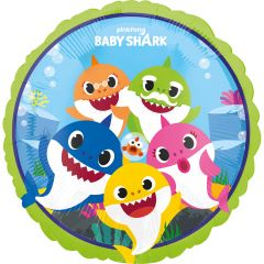 Standard Baby Shark folijski balon
