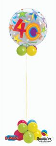 Helijska balonska skulptura Bubble 40 Brilliant Stars
