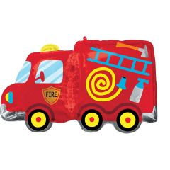 Maxi Fire Truck folijski balon