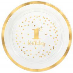 1st Birthday pladanj za serviranje