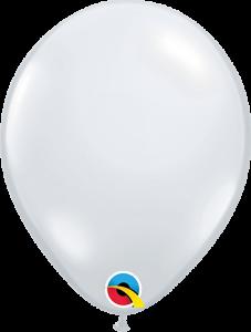 Lateks baloni 13cm Diamond Clear 100 kom