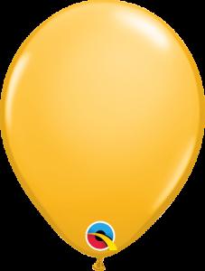 Lateks baloni 13cm Goldenrod
