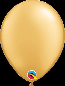 Lateks baloni 13cm Gold