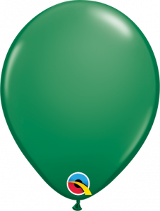 Lateks baloni 13cm Green