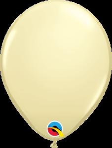 Lateks baloni 13cm Ivory Silk