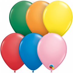 Lateks baloni 13cm Standard Assortment