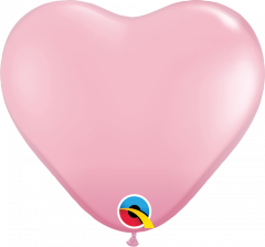 Lateks baloni srce 28cm Pink