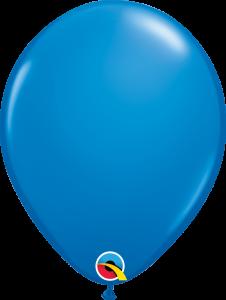 Lateks baloni 40cm Dark Blue