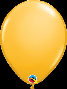 Lateks baloni 28cm Goldenrod