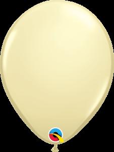 Lateks baloni 28cm Ivory Silk