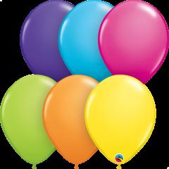 Lateks baloni 28cm Tropical Assortment 25kom