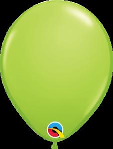 Lateks baloni 13cm Lime Green