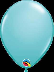 Lateks baloni 13cm Caribbean Blue