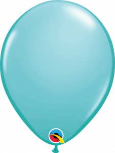 Lateks baloni 28cm Caribbean Blue