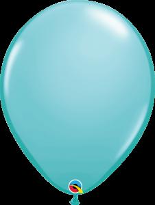Lateks baloni 40cm Caribbean Blue