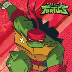 Rise Of The Teenage Mutant Ninja Turtles salvete 33x33 cm