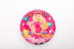 Barbie papirnati tanjuri 23cm