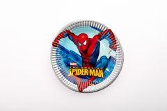 Spiderman papirnati tanjuri 23m