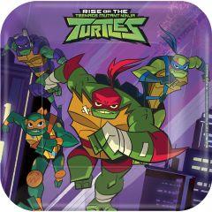 Rise Of The Teenage Mutant Ninja Turtles tanjuri 18 cm