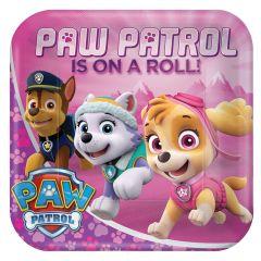 Pink Paw Patrol tanjuri 23 cm