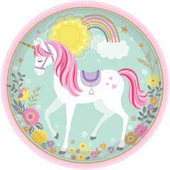 Magical Unicorn tanjuri 23cm