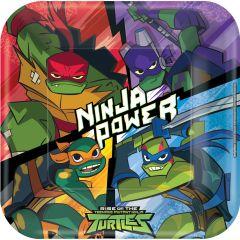 Rise Of The Teenage Mutant Ninja Turtles tanjuri 23 cm