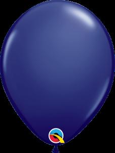 Lateks baloni 28cm Navy