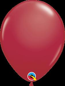 Lateks baloni 28cm Maroon