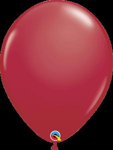Lateks baloni 40cm Maroon