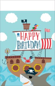 Ahoy Birthday stolnjak