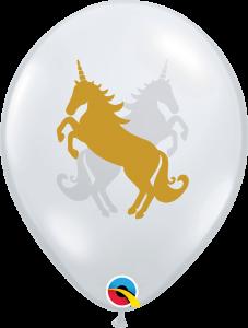 Lateks baloni 28cm Unicorn DC
