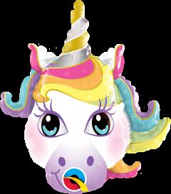 Mini Magical Unicorn folijski balon na štapiću