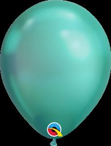 Lateks baloni 28cm Chrome Green