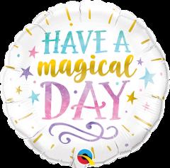 Mini Have a Magical Day folijski balon na štapiću