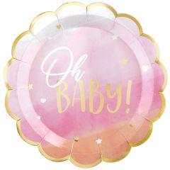 Oh Baby Girl tanjuri 27 cm