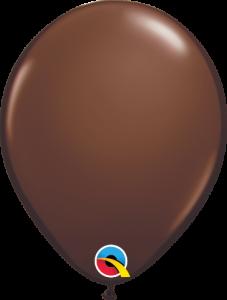 Lateks baloni 13cm Chocolate Brown