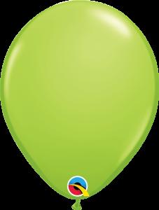 Lateks baloni 28cm Lime Green