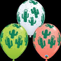 Lateks baloni 28cm Cactuses