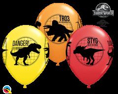 Lateks baloni 28cm Jurassic World: Fallen Kingdom