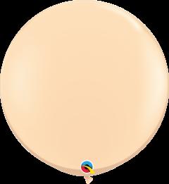 Lateks baloni 90cm Blush