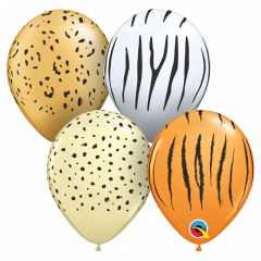 Lateks baloni 13cm Safari Special  Ast